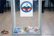 Кыргызстан Ислам Университети өткөрүп жаткан кайрымдуулук акциясында 45 миң 694 сом чогулду